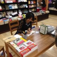 サイン会 Book Signing