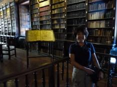 ペルーの古い図書館