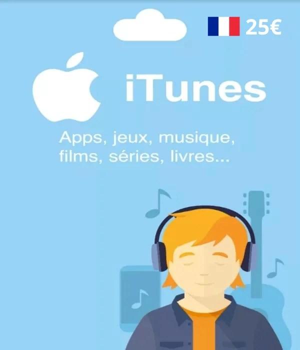 Carte App Store & Itunes 25€ [Eu]