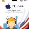 Carte App Store & iTunes 20$ USA