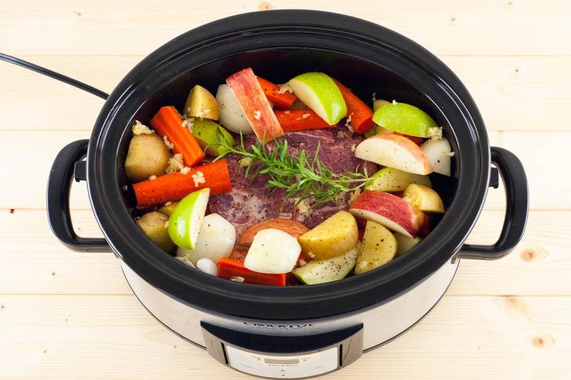 Slowcooker Pork Loin And Roasted Vegetables Youshouldcraft Com