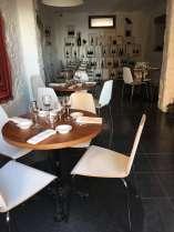 Cinq restaurant Tourrettes-sur-Loup design