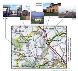 Fattoria Santo Stefano map