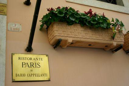 Ristorante Paris Trastevere