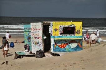 Playa Brava beach hut Jose Ignacio