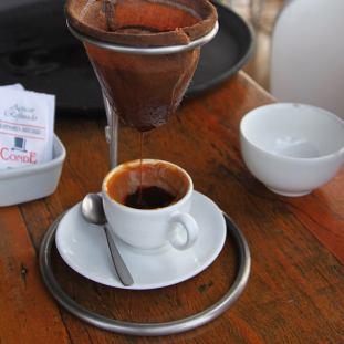 Restaurant Mergulhão coffee dulce de leche