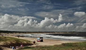 Playa Brava clouds