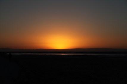 Salar de Atacama sunset