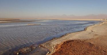 Salar de Atacama lake