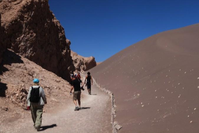 Atacama Val de Luna entrance