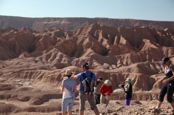 Atacama Desert Devil's Gorge view