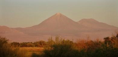Salar de Atacama volcano