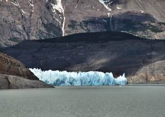 Torres del Paine Grey's Glacier ice wall