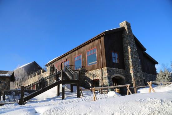 Devil's Thumb Ranch spa building