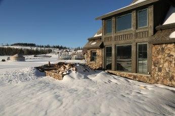 Devil's Thumb Ranch lodge exterior