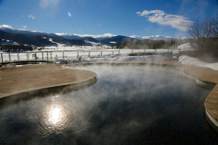 Devil's Thumb Ranch pool mist