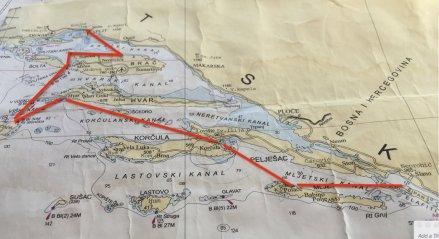 Croatia Sailing Route Queen of the Adriatic