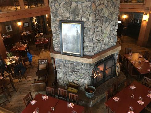 Devil's Thumb Ranch fireplace