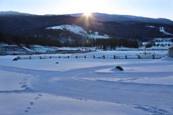 Devil's Thumb Ranch dawn