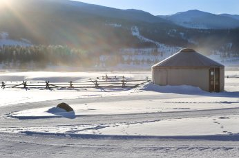 Devil's Thumb Ranch yurt