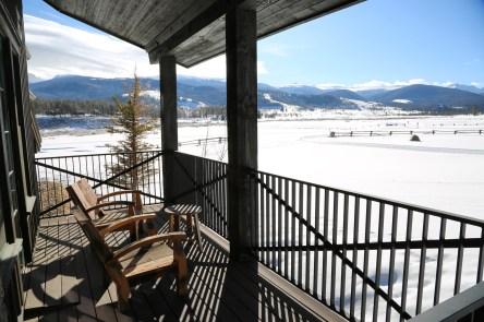 Devil's Thumb Ranch room view