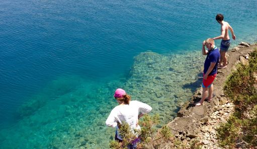 Mljet national park water