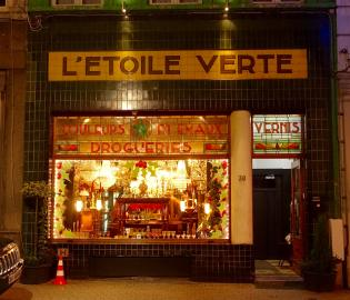 Brussels storefront