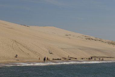 Dune du Pilat from the sea