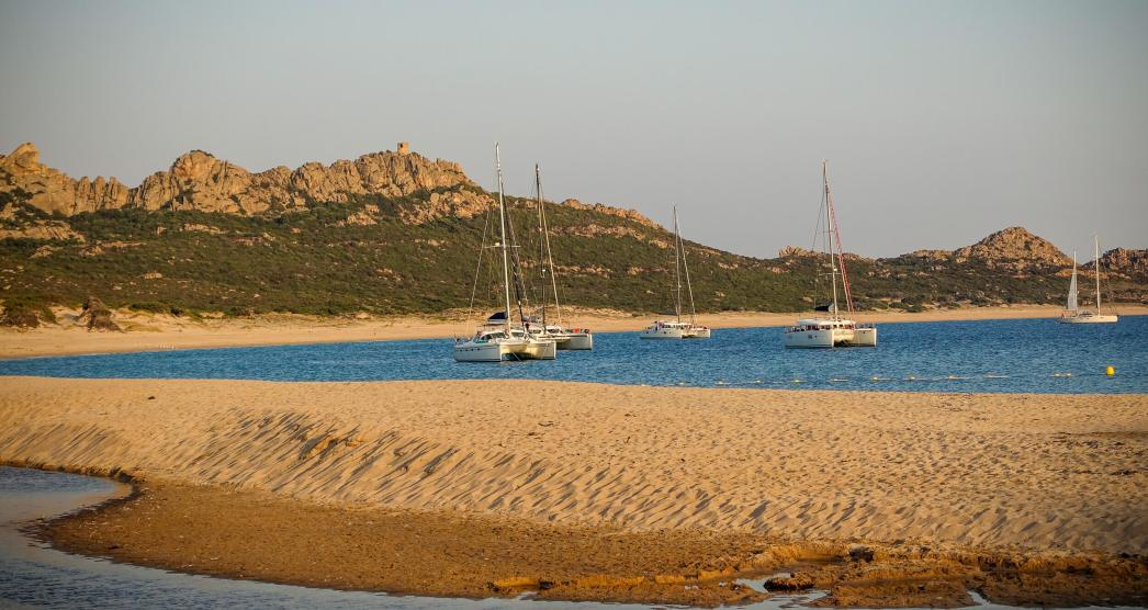 Domaine de Murtoli sailboats
