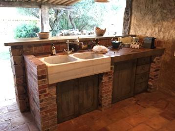 Domaine de Murtoli A Tiria sink kitchen