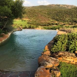 Domaine de Murtoli A Tiria pool view