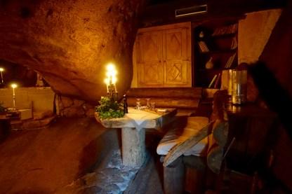 Domaine de Murtoli La Grotte booth