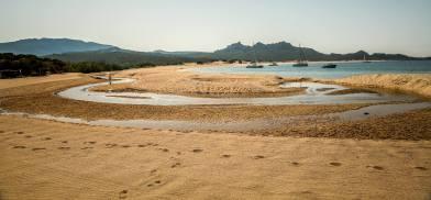 Domaine de Murtoli La Plage river