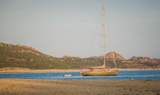 Domaine de Murtoli sailboat
