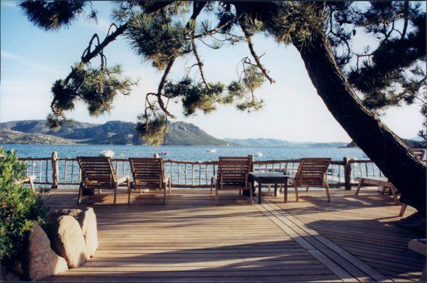Grand Hotel Cala Rossa view