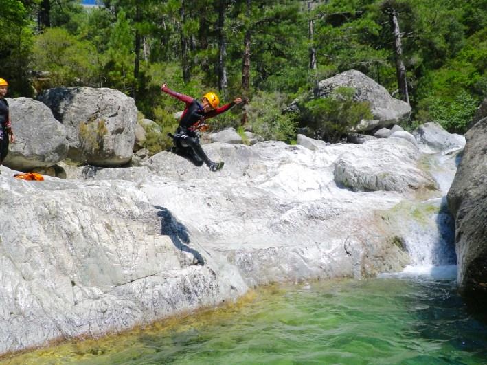 Corsica Canyoning jumper