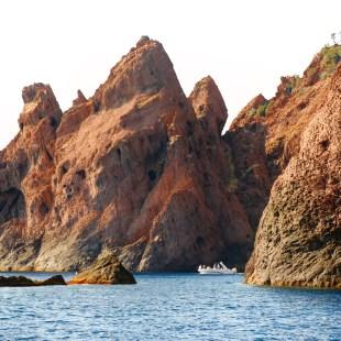 Scandola Nature Reserve boat cove