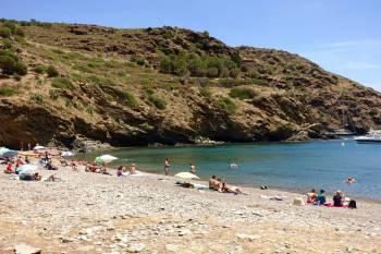 Cala Montjoi beach