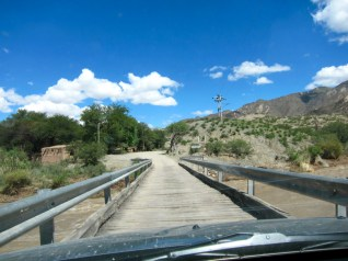 Ruta 40 Salta Argentina bridge