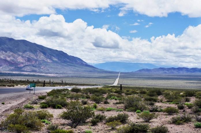 Ruta 33 Altiplano Salta road