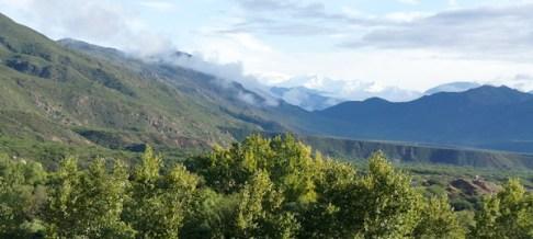 Estancia Colomé Andes view