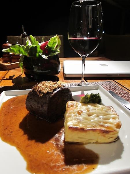 Pousada Maravilha dinner restaurant