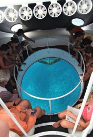 FERNANDO DE NORONHA glass bottom boat tour