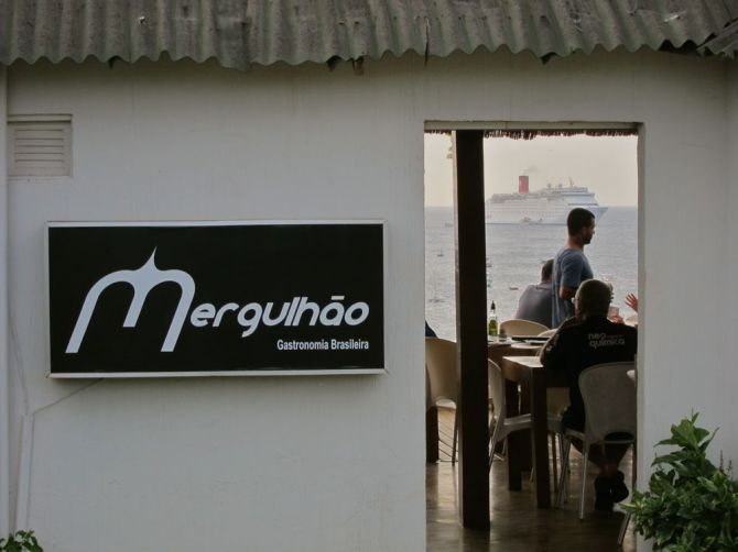 Mergulhão was one of my favorite restaurants, right by the port.