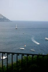 View from room Albergo Miramare Positano