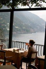 Albergo Miramare Positano restaurant