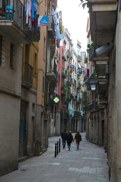 El Born alleyway