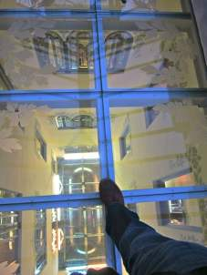 El Palauet Living glass roof