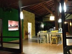 FERNANDO DE NORONHA Ecologiku's dining room