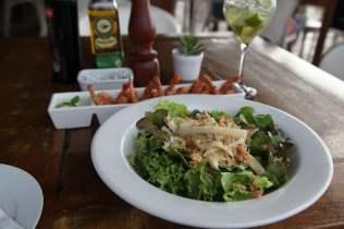 Restaurant Mergulhão salad